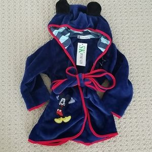 Mickey Mouse Toddler Robe